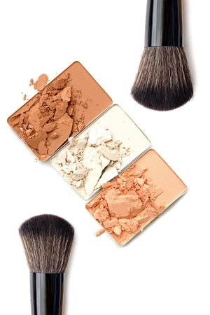 Basic make-up products. Foundation and powder