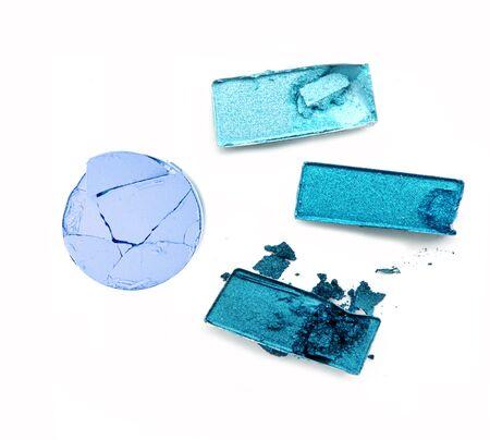 strewed: Blue eye shadow crushed set