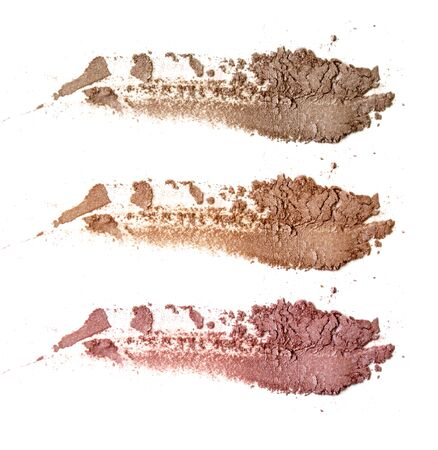 Colors shade brown and nude tone eye shadow