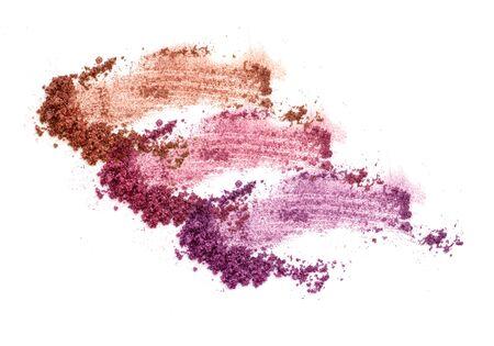 Colors shade purple and blue eye shadow Banco de Imagens