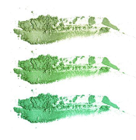 Colors shade green tone eye shadow