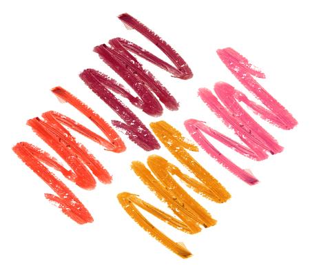 Ensemble de rouge à lèvres isolé Banque d'images - 85981519