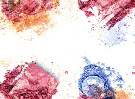 Frame make up color make up eye shadow
