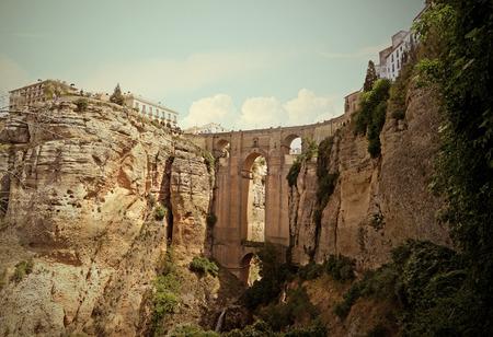 Tajo de Ronda, Historic and Artistic Center of Ronda, Andalusia, Spain
