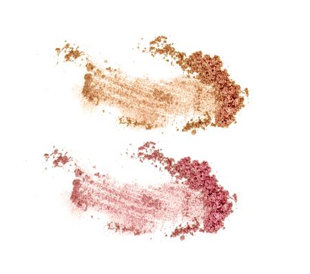 Colors shade glitter eye shadow Banco de Imagens