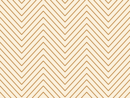 Linear gold geometrical zigzag background. Vector illustration. Illustration