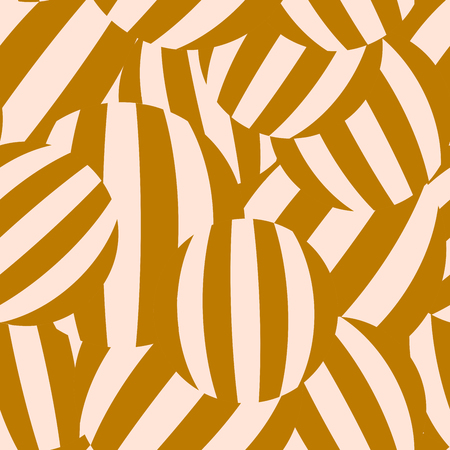 Abstract geometrical seamless pattern. with striped background. Vector illustration.