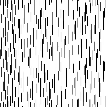 Linear geometric seamless pattern. Black and white background with vertical strips. Vector illustration. Illustration