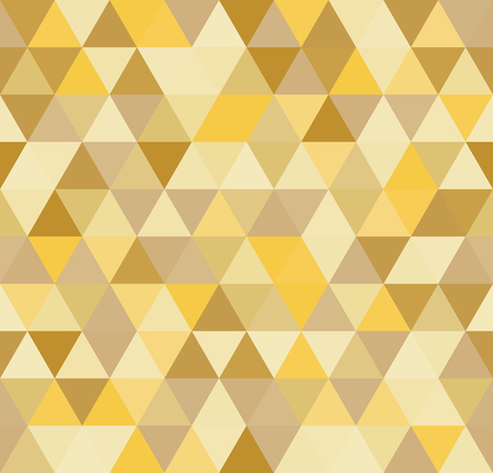 Seamless abstract colorful triangle geometrical background. Endless pattern. Seamless vector illustration. 矢量图像