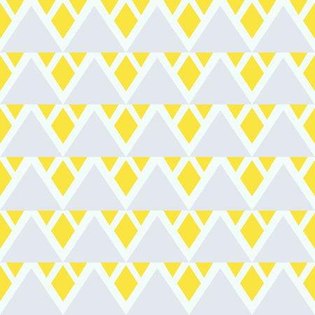 Seamless abstract background with rhombuses. Infinity geometric pattern. Vector illustration. Seamless geometric pattern.