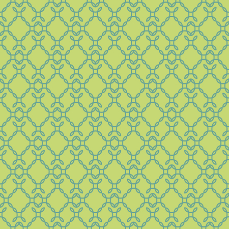 Elegant curly endless pattern. Seamless background. Damask.