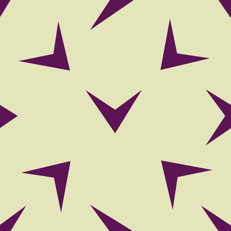 Seamless arrow pattern. Endless geometrical background. Check sign. Contemporary design. Ilustracja