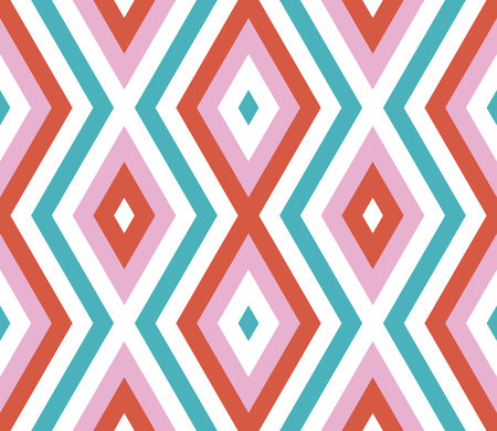 Seamless abstract background with rhombuses. Infinity geometric pattern. Seamless geometric pattern. Vector illustration.