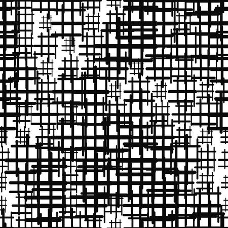 Checkered seamless pattern. Geometric background. Vector illustration. 向量圖像
