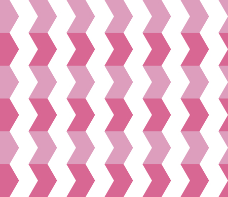 Zigzag seamless pattern. Geometrical background. Vector illustration. Ilustração