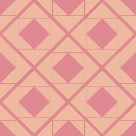 Seamless abstract background with rhombuses. Infinity geometric pattern. Vector illustration. Foto de archivo - 117863849