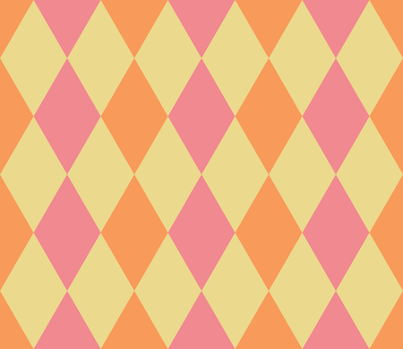 Seamless abstract background with rhombuses. Infinity geometric pattern. Vector illustration. Seamless geometric pattern. Vector Illustration