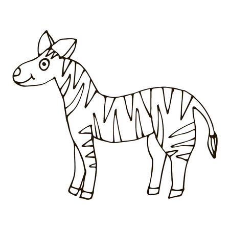 3589 Zebra Horse Stock Illustrations Cliparts And Royalty Free