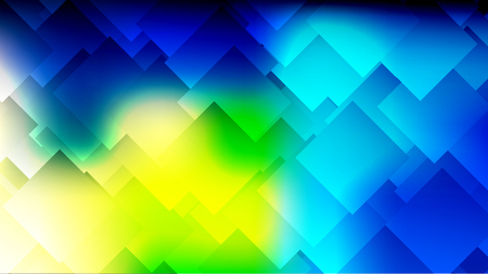 Modern abstract colorful gradient background with rhombuses, squares. Geometric poster, banner. Vector illustration.