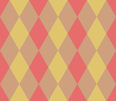 Seamless geometric pattern. Rhombus background. Vector illustration.
