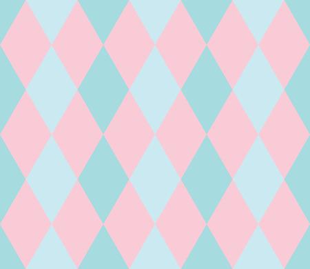 Seamless geometric pattern. Rhombus background. Vector illustration. Illustration