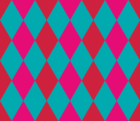 Seamless geometric pattern. Rhombus background. Vector illustration. Vektorové ilustrace
