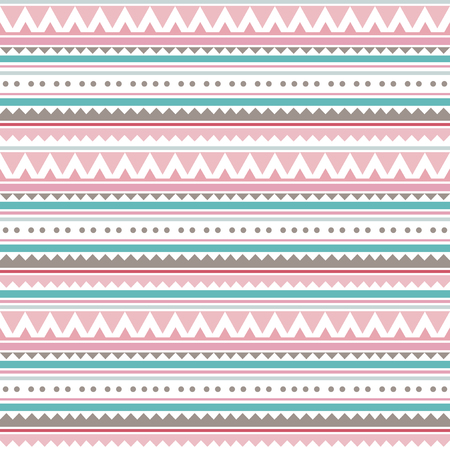 Ethnic seamless pattern. Tribal background. Vector illustration.