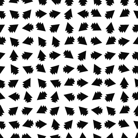 Seamless abstract background with triangles. Tribal infinity geometric pattern. Vector illustration.
