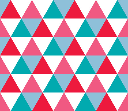 Seamless geometric pattern. Seamless abstract triangle geometrical background. Infinity geometric pattern. Vector illustration.