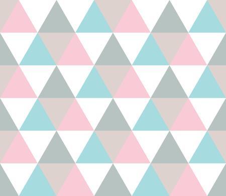 Seamless geometric pattern. Seamless abstract triangle geometrical background. Infinity geometric pattern. Vector illustration.