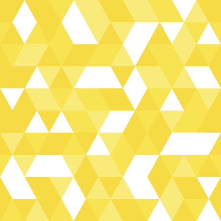Triangle seamless pattern. Triangular endless background of geometric shapes. Arrow seamless pattern. Vector illustration.