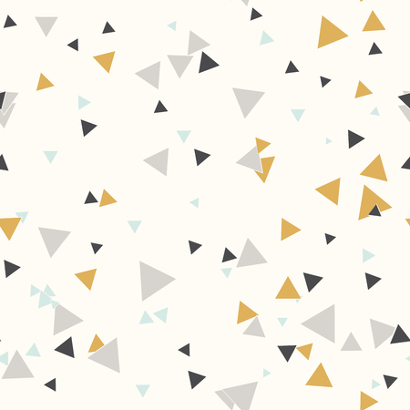 Seamless pattern. Endless background of geometric shapes. Arrow seamless pattern 矢量图像