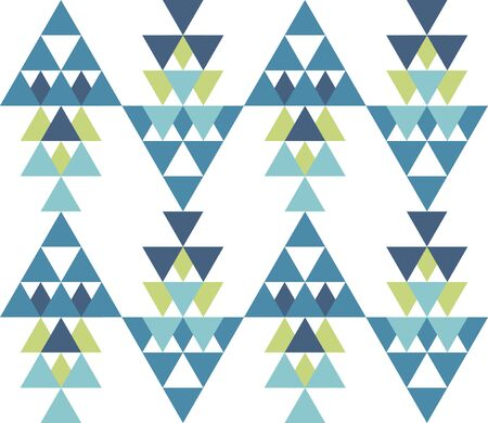 Seamless geometric pattern. Ethnic seamless pattern. Tribal background. Seamless abstract triangle geometrical background. Infinity geometric pattern. Vector illustration.