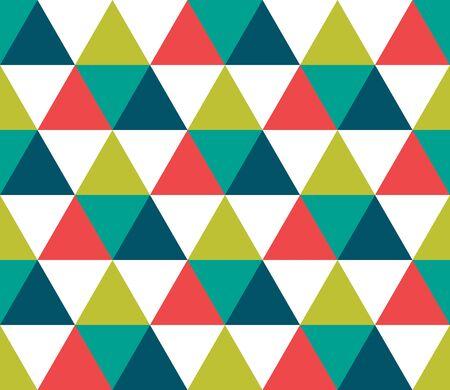 Triangular background. Seamless geometric pattern. Seamless abstract triangle geometrical background. Infinity geometric pattern. Vector illustration. 向量圖像