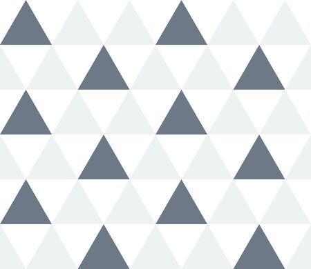 Triangular background. Seamless geometric pattern. Seamless abstract triangle geometrical background. Infinity geometric pattern. Vector illustration. Ilustração