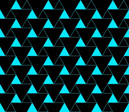 Triangular background. Seamless geometric pattern. Seamless abstract triangle geometrical background. Infinity geometric pattern. Vector illustration. Illustration