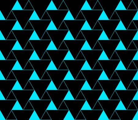 Triangular background. Seamless geometric pattern. Seamless abstract triangle geometrical background. Infinity geometric pattern. Vector illustration. Çizim