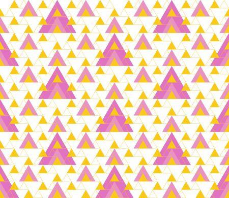 Triangular background. Seamless geometric pattern. Seamless abstract triangle geometrical background. Infinity geometric pattern. Vector illustration. Ilustrace