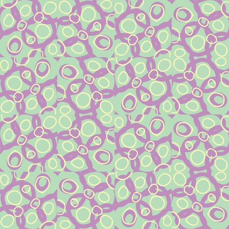 Abstract geometric seamless pattern. Tile background. Infinity wrapping paper with different shapes. Creative texture. Vector illustration.  イラスト・ベクター素材
