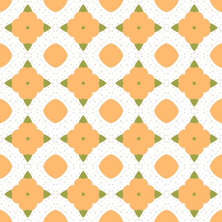 Abstract geometric seamless pattern. Tile background. Infinity wrapping paper with different shapes. Creative texture. Vector illustration. Archivio Fotografico - 137781793
