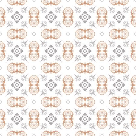 Abstract geometric seamless pattern. Tile background. Infinity wrapping paper with different shapes. Creative texture. Vector illustration. Archivio Fotografico - 137781963