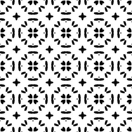 Abstract bright modern geometric seamless pattern. Art deco geo background. Popular tile infinity backdrop. Vector illustration.