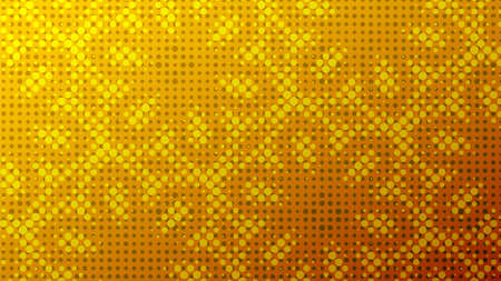 Abstract halftone ornamental geometric background. Pop art style card. Grunge texture. Business banner. Stockfoto - 168134539