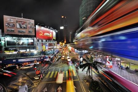 kuala lumpur city: The shopping and entertainment district of Kuala Lumpur