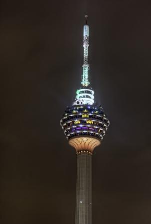 KL Tower night view
