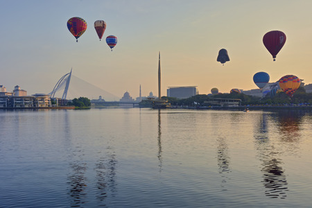 March 30, 2014 -   6th Putrajaya International Hot Air Balloon Fiesta 2014