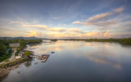 tropica: Sunrise over the fisherman jetty