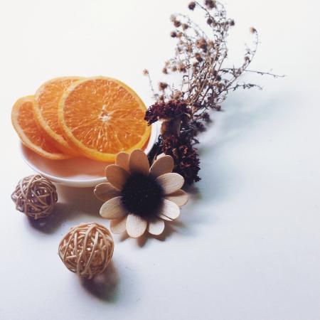 whitespace: Orange with whitespace
