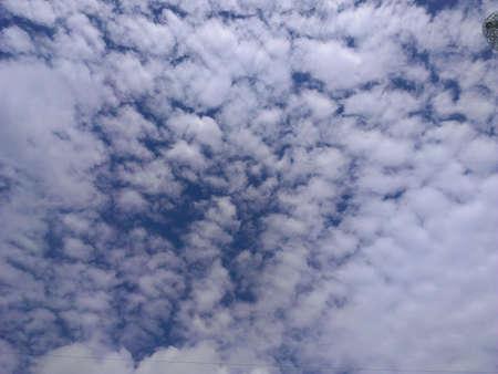 clound: Clound in sky Stock Photo
