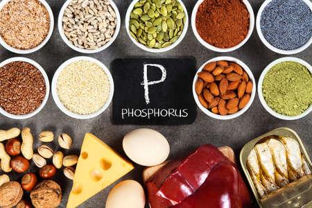 Organic phosphorus sources. Foods highest in phosphorus.